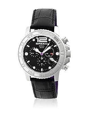 Breed Reloj con movimiento cuarzo suizo Brd6702 Negro 44  mm