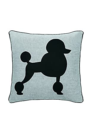 Torre & Tagus Chambray Poodle Pillow