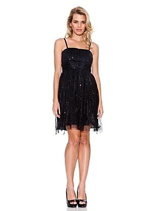Guess Kleid Pailletten (Schwarz)