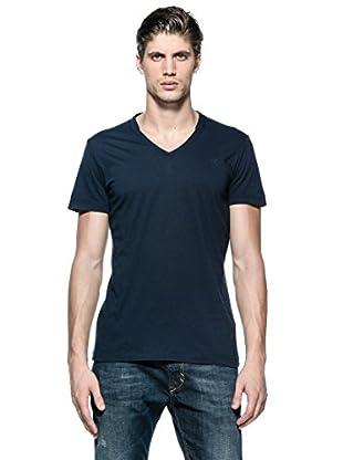 Diesel Camiseta T-Brisk-Rs (Azul Oscuro)