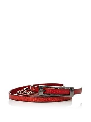 Sándalo Cinturón Fino (Rojo)