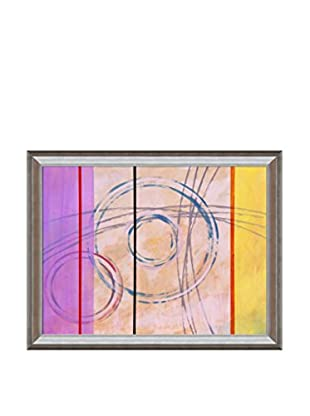 Clive Watts Ringer No 2 Framed Print On Canvas, Multi, 35