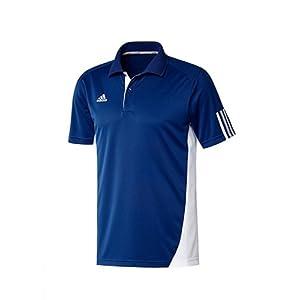 Adidas V37898 Men's T shirts-Blue