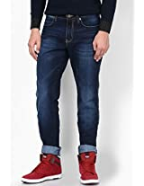 Dark Blue Slim Fit Jeans (Millard)