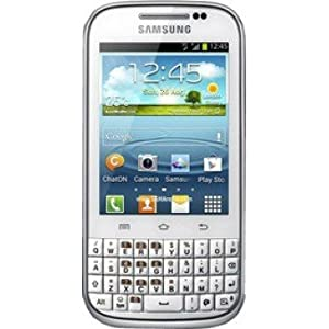 Samsung Galaxy Chat, White Mobile