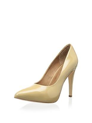 Corso Como Women's Blair Pointy-Toe Pump (Beige Patent)