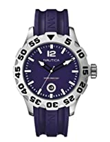 Nautica Analog Purple Dial Men's Watch - A14615G
