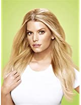 "21"" Bump Up The Volume Hair Extensions by Jessica Simpson hairdo Buttered Toast AD"