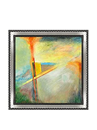 Clive Watts Edge Of Abstraction No 1 Framed Print On Canvas, Multi, 28.75