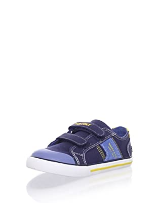 Pablosky Kid's Double-Strap Sneaker (Navy blue)