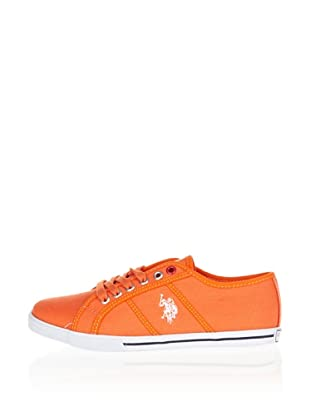 US Polo Assn Sneaker Botter (Orange)