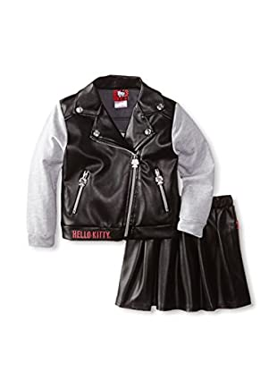 Hello kitty leather jacket