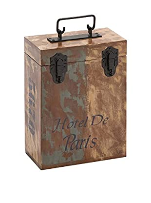 Wood 2-Bottle Wine Box