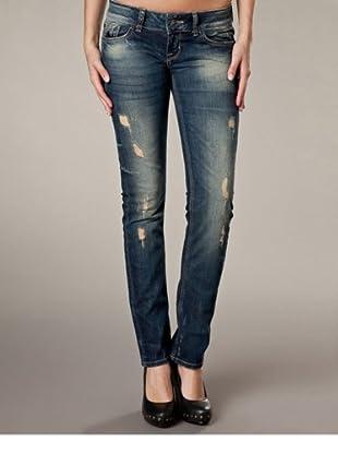 LTB Jeans Skinny Fit Low Rise (Dunkelblau)