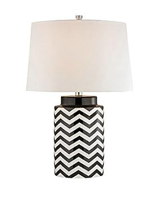 Artistic Lighting Table Lamp, Black/White