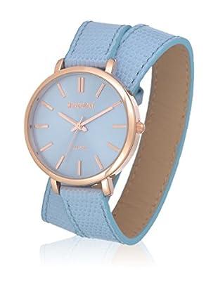 Metropolitan Reloj de cuarzo  Azul Claro 36 mm