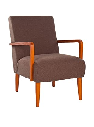Safavieh Wiley Arm Chair, Brown