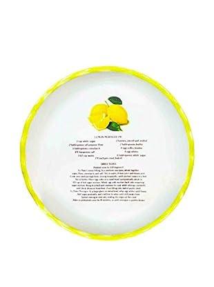 Aunt Beth's Cookie Keepers Lemon Meringue Pie Plate