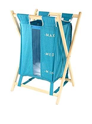 Gedy by Nameek's Laundry Basket BU38-11, Blue
