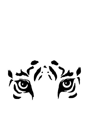 Ambiance Live Vinilo Decorativo Tiger eyes Negro
