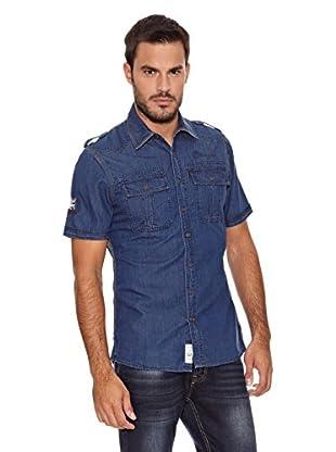 Paul Stragas Camisa Hombre Levy (Azul)