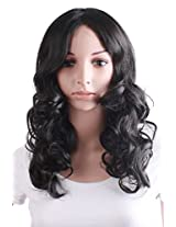 Mapof Beauty Fashion Long Curly Wigs