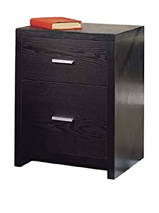 Organize It All 2-Drawer Unit, Black