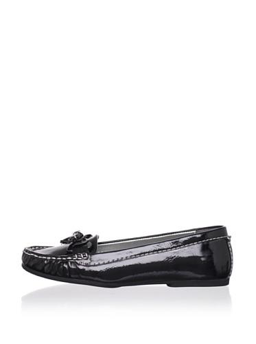 Adrienne Vittadini Women's Trixie Loafer (Black)