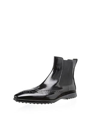 Tod's Men's Wingtip Boot (Black)