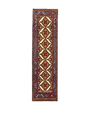 Eden Teppich Hamadan blau/mehrfarbig 78 x 290 cm