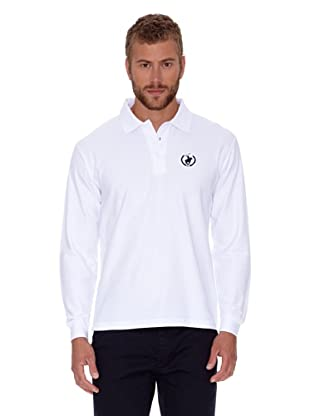 Polo Club Polo Regular Fit Ml Logo Small (Blanco)