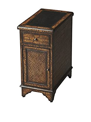 Butler Specialty Company Angus Fossil Stone Chairside Chest, Brown