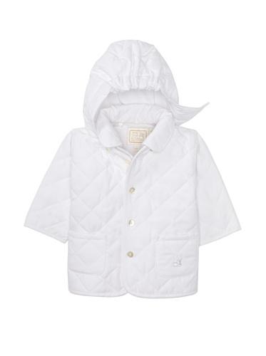 Emile et Rose Baby Boy's Detachable Hood Jacket (White)