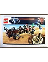 Game / Play Lego Star Wars 9496 Desert Skiff, Also Includes 4 Blasters, Escape The Jaws Of The Sarlacc Toy / Child / Kid