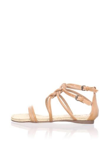 MaxStudio Women's Sear Flat Espadrille Sandal (Rosa)