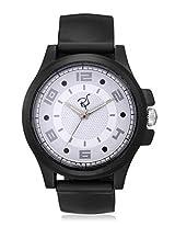 RICO SORDI Mens Black Leather Watch (RSMW_L8)