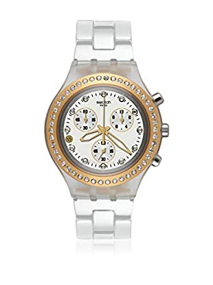 Swatch Quarzuhr Woman Unisex Full-Blooded Marvelous Yellow 43.0 mm