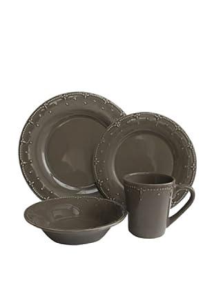 American Atelier Genevieve 16-Piece Dinnerware Set (Gray)