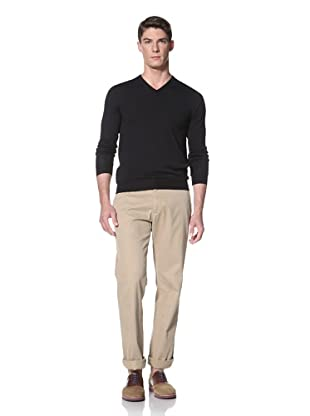 Simon Spurr Men's V-Neck Sweater (Navy)