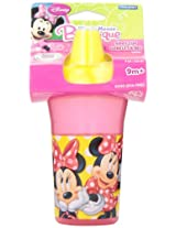 The First Years Minnie Basic Slim Line Cup with Easy Clean Valve Sippy Lid, (Multicolor)
