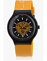 Ne-Yw Yellow/Black Analog Watch Ed Hardy