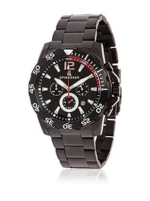 Spinnaker Uhr mit japanischem Quarzuhrwerk Laguna schwarz 44 mm