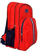 Tommy Hilfiger Back To School Polyester Red Children's Backpack(TH/BTS04010314/RED/BPK)