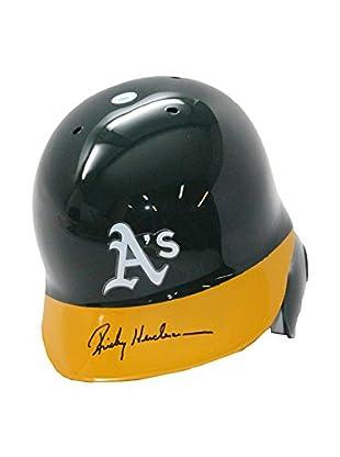 Steiner Sports Memorabilia Rickey Henderson Signed Athletics Helmet, 14