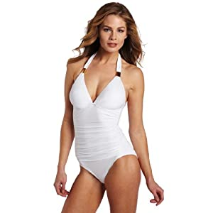 Jantzen Women's Seashore Maillot Swimsuit