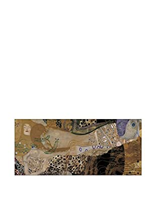 Artopweb Panel Decorativo Klimt The Sea Serpent 44x100 cm Multicolor