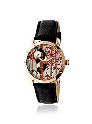 Bertha Women's BR4506 Lilly Black/Multicolor Leather Watch