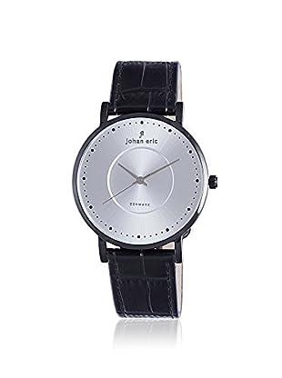Johan Eric Men's JE1800-13-001 Esbjerg Black/Silver Leather Watch