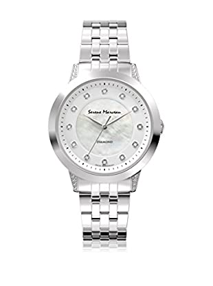 Serene Marceau Diamond Reloj de cuarzo Woman Series V Acero 34 mm