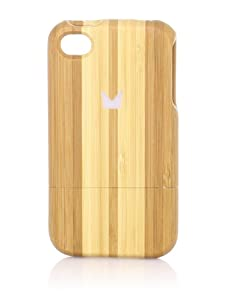 Ultima Series Stripe Bamboo iPhone 4/4S Case, Light Brown